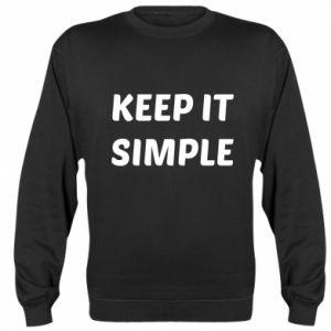 Bluza (raglan) Keep it simple