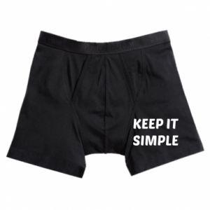 Bokserki męskie Keep it simple