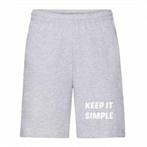 Męskie szorty Keep it simple