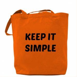 Torba Keep it simple