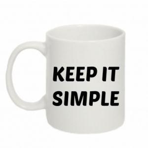 Kubek 330ml Keep it simple