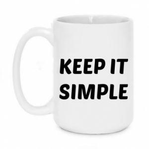 Kubek 450ml Keep it simple