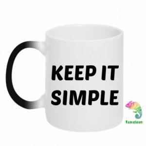 Kubek-kameleon Keep it simple