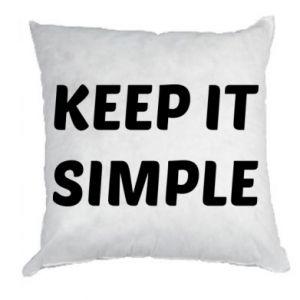 Poduszka Keep it simple