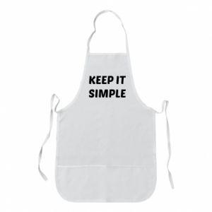 Fartuch Keep it simple