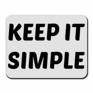 Podkładka pod mysz Keep it simple
