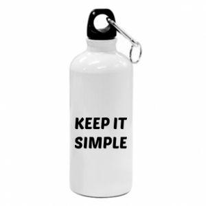 Water bottle Keep it simple