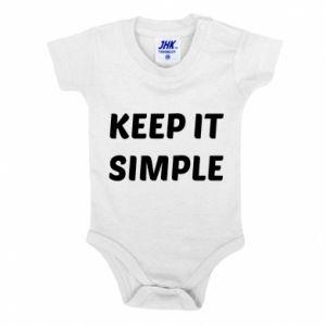 Body dla dzieci Keep it simple