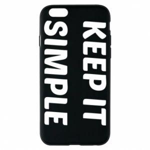 Etui na iPhone 6/6S Keep it simple
