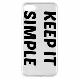 Etui na iPhone 7 Keep it simple