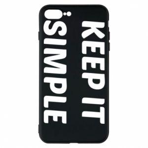Etui na iPhone 7 Plus Keep it simple