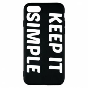 Etui na iPhone 8 Keep it simple