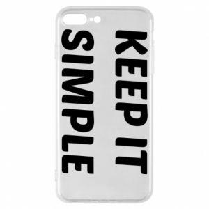 Etui na iPhone 8 Plus Keep it simple