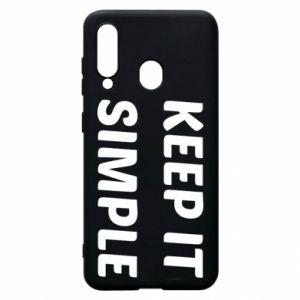 Etui na Samsung A60 Keep it simple