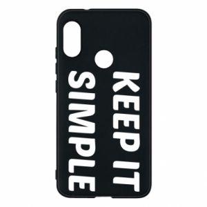 Etui na Mi A2 Lite Keep it simple