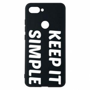 Etui na Xiaomi Mi8 Lite Keep it simple