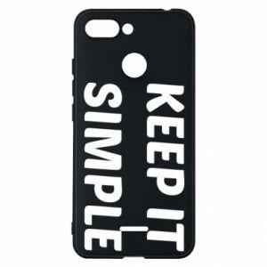 Etui na Xiaomi Redmi 6 Keep it simple