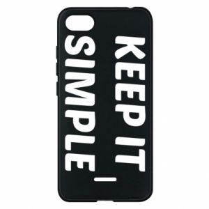 Etui na Xiaomi Redmi 6A Keep it simple