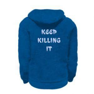 Bluza na zamek dziecięca Keep killing it