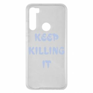Etui na Xiaomi Redmi Note 8 Keep killing it