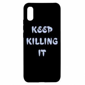 Etui na Xiaomi Redmi 9a Keep killing it