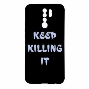 Etui na Xiaomi Redmi 9 Keep killing it