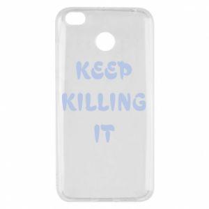 Etui na Xiaomi Redmi 4X Keep killing it