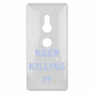 Etui na Sony Xperia XZ2 Keep killing it