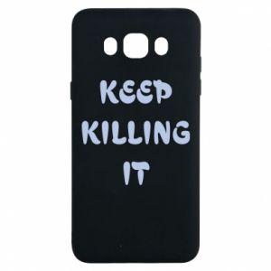 Etui na Samsung J7 2016 Keep killing it
