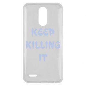 Etui na Lg K10 2017 Keep killing it