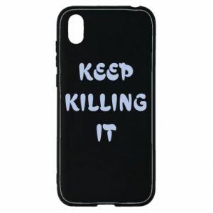 Etui na Huawei Y5 2019 Keep killing it