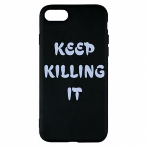 Etui na iPhone SE 2020 Keep killing it