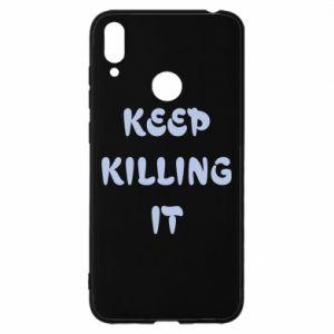 Etui na Huawei Y7 2019 Keep killing it