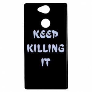 Etui na Sony Xperia XA2 Keep killing it