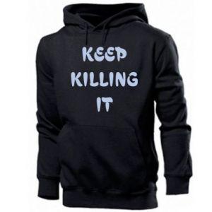 Bluza z kapturem męska Keep killing it
