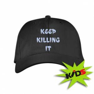Czapeczka z daszkiem dziecięca Keep killing it