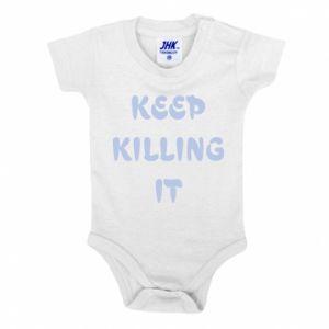 Body dziecięce Keep killing it