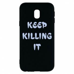 Etui na Samsung J3 2017 Keep killing it