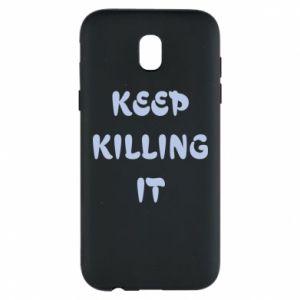 Etui na Samsung J5 2017 Keep killing it