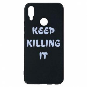 Etui na Huawei P Smart Plus Keep killing it