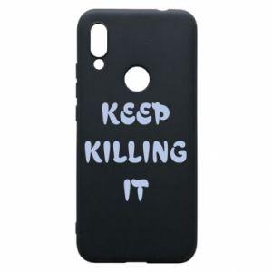 Etui na Xiaomi Redmi 7 Keep killing it