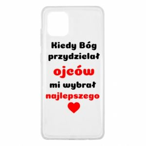 Etui na Samsung Note 10 Lite Kiedy Bóg