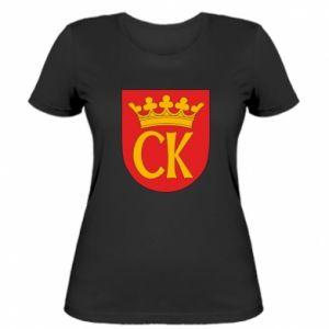 Damska koszulka Kielce herb