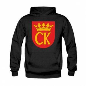 Kid's hoodie Kielce coat of arms