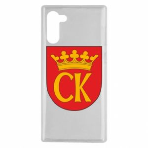 Samsung Note 10 Case Kielce coat of arms