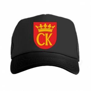 Trucker hat Kielce coat of arms