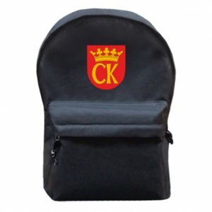 Backpack with front pocket Kielce coat of arms