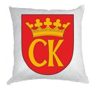 Pillow Kielce coat of arms