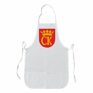 Apron Kielce coat of arms