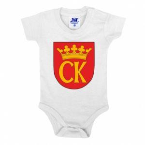 Baby bodysuit Kielce coat of arms